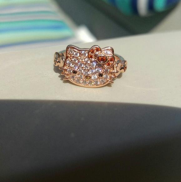b5e9651e5 Hello Kitty Jewelry | Ring | Poshmark